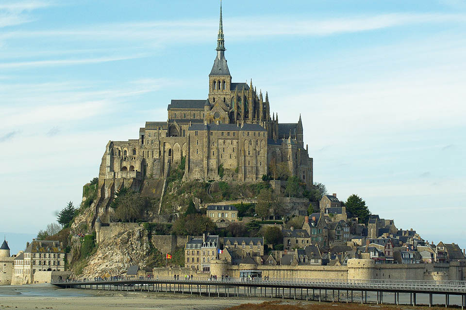 Idée Rando : La baie du Mont-Saint-Michel