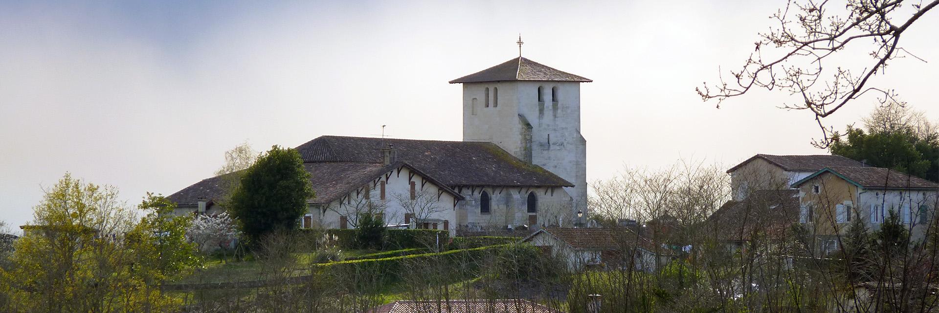 Village_club_vacances_charente-et-landes-les-hameaux-de-la-chalosse-église-de-montfort-en-Chalosse