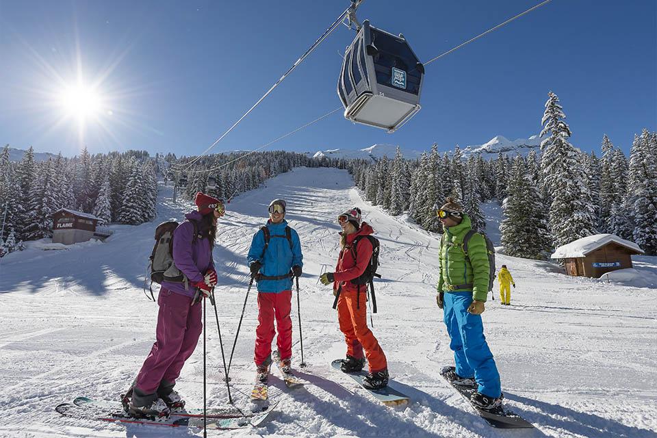 Village_club_vacances_haute-savoie_Berouze-remontee-mechanique-neige-hiver
