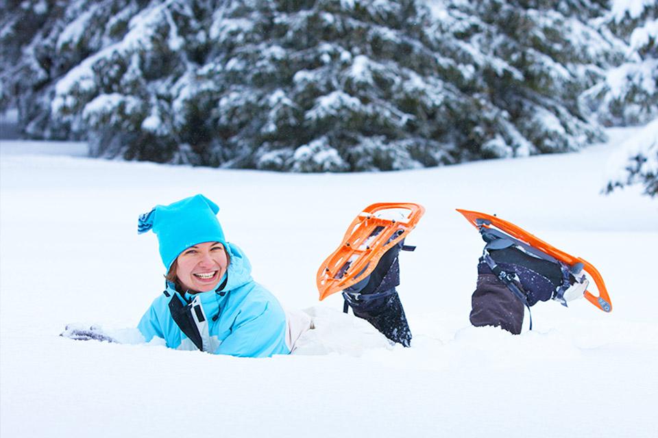 Idée Rando :  Rando neige dans les Vosges alsaciennes