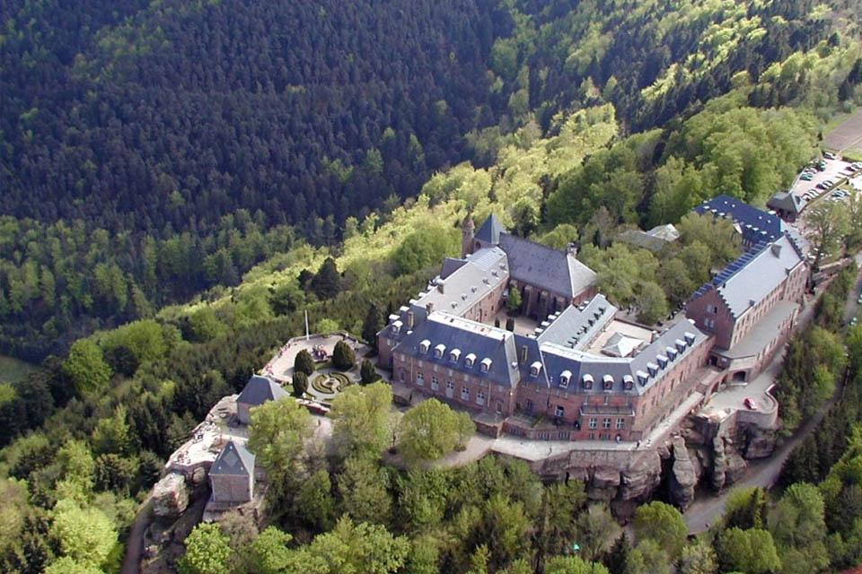 Idée Rando : Mont Sainte-Odile, mur païen