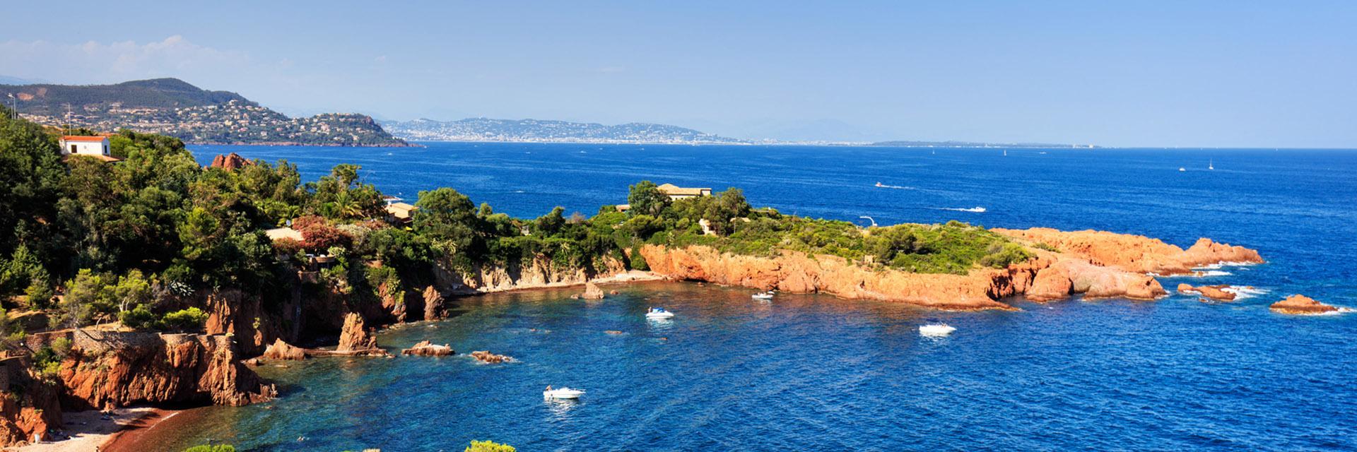 Vacances en groupe en Côte d'Azur et Méditerranée