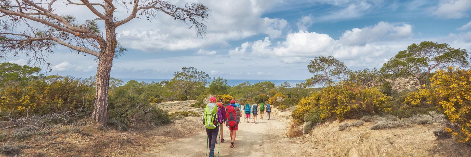 Des vacances pour les groupes de randonneurs