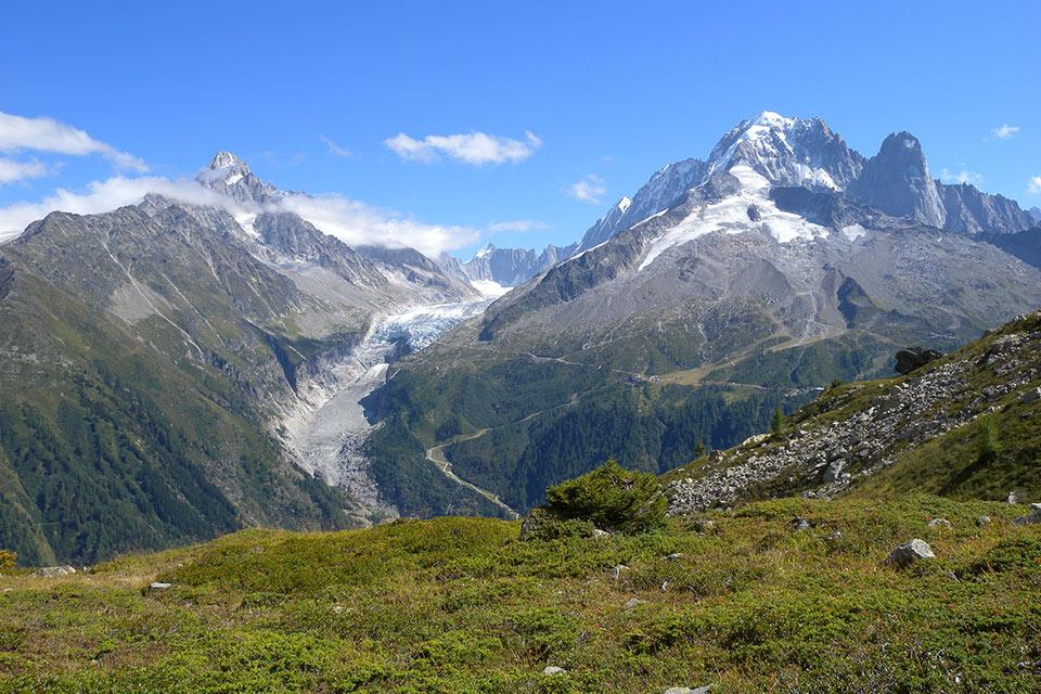 Idée Rando : Glacier d'argentière