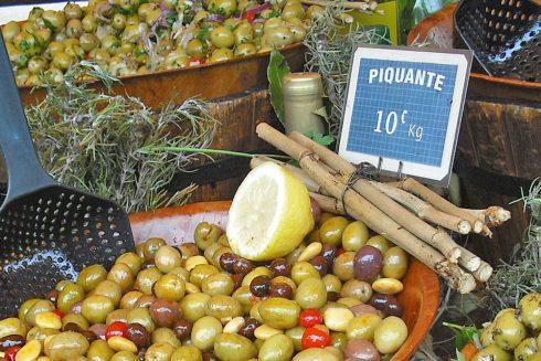 Route gastronomique olivier
