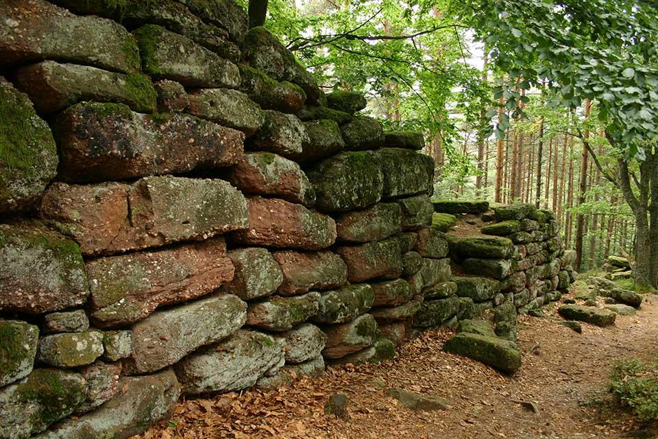 Le mur païen du Mon Sainte-Odile