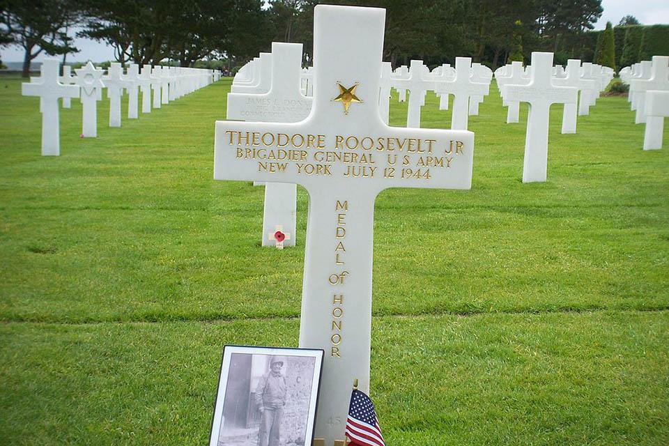 Le cimetière américain d'Omaha Beach à Colleville-sur-Mer