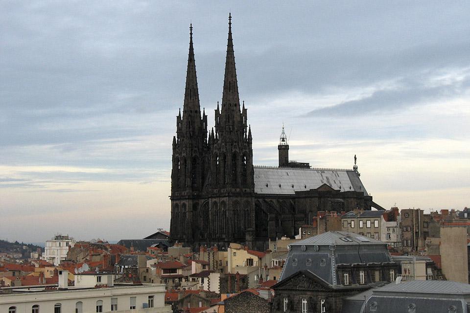 La Cathédrale Notre-Dame-de-l'Assomption, à Clermont-Ferrand