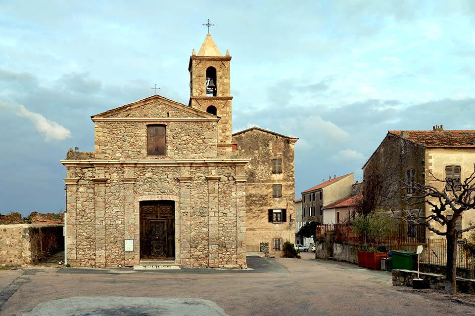 L'église Saint-Marcel, à Aléria