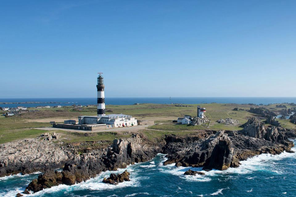 Le phare du Créac'h, à Ouessant