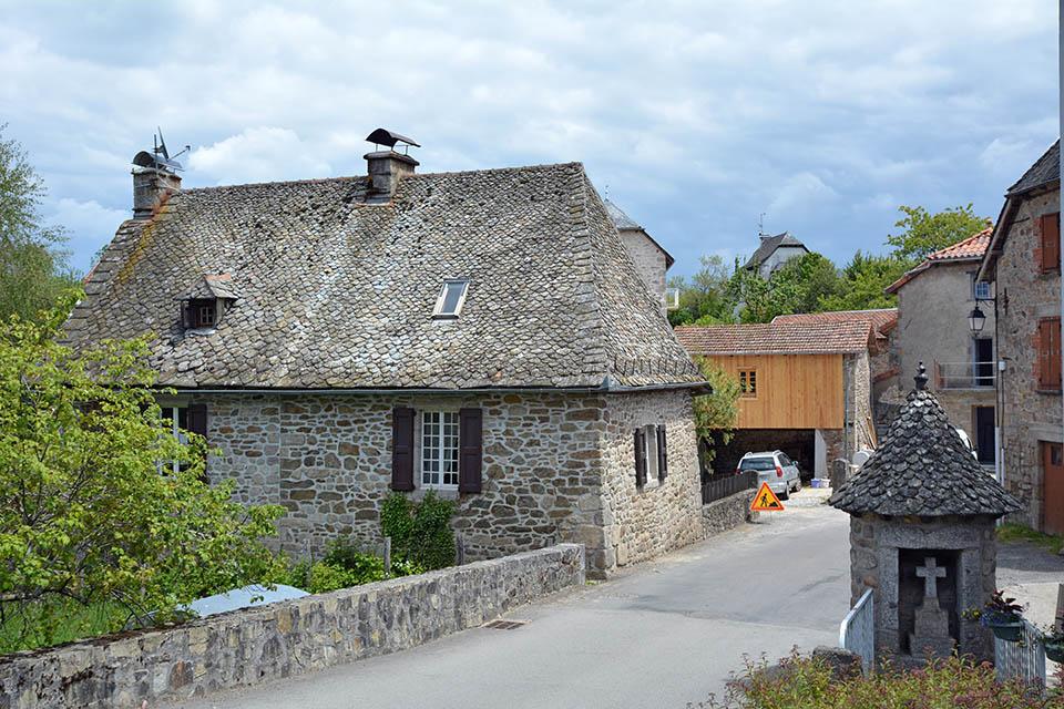 Le village de Marcolès