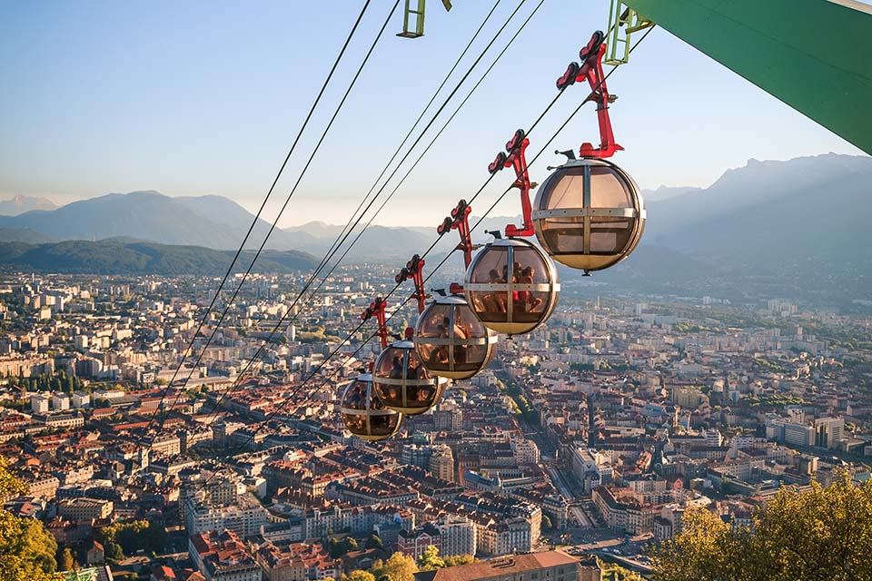 Les Bulles : le téléphérique de Grenoble