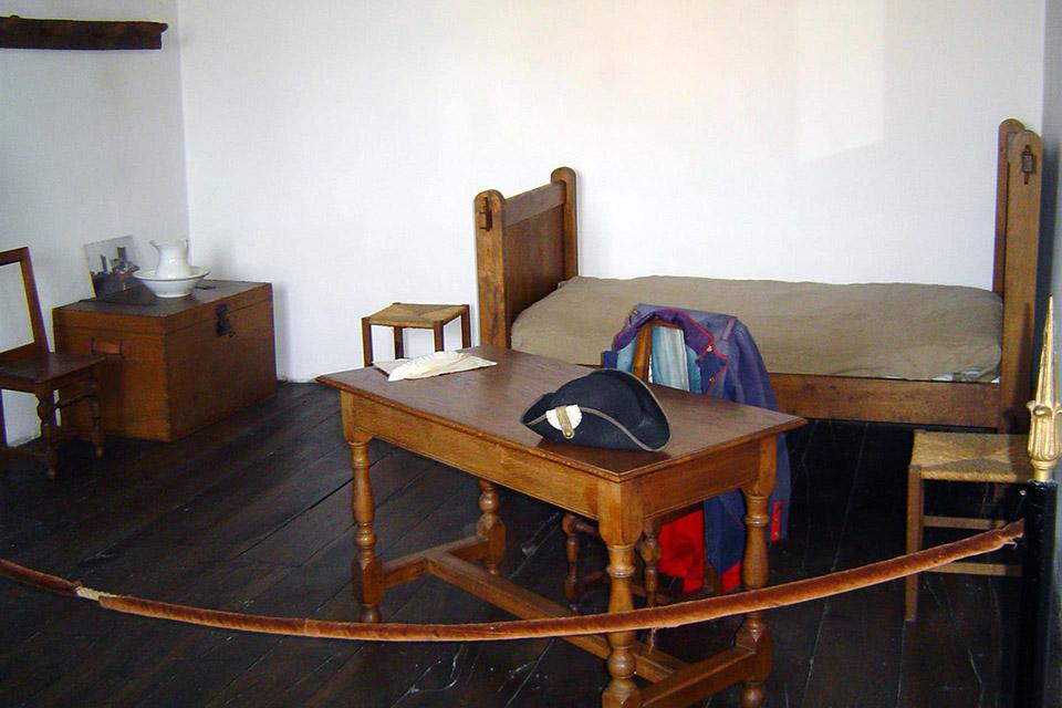 La chambre de Napoléon Bonaparte