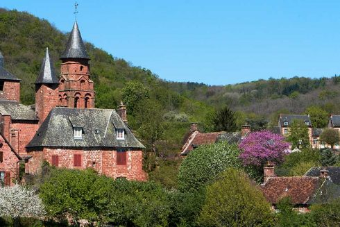 Collonges La Rouge Cap France