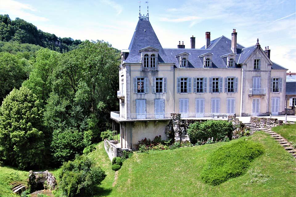 Le château de Vaux-sur-Poligny