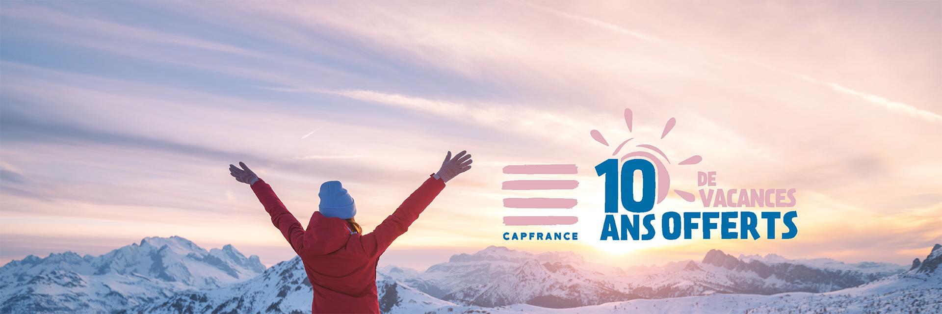 Gagnez 10 ans de vacances chez Cap France