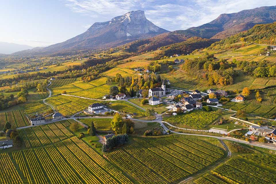 Apremont et Mont Granier © CIVS Laurent Madelon